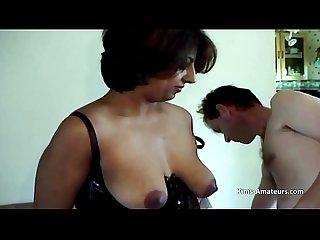 Amateur Indian milf licked and used 2 white men