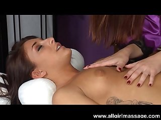 Karlie montana massages mischa brook S wet pussy
