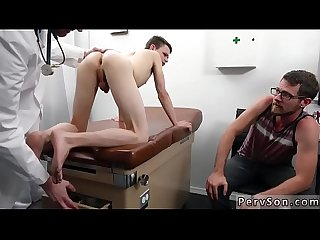 Fat Gay boys with glasses doctor s office visit
