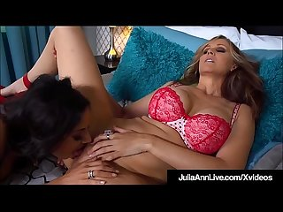 Mega Hot Milf Julia Ann Licks Pussy With Trinity St. Claire!