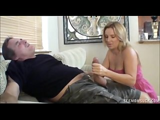 Two blondes suck a boner