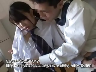 Cute Japanese High school girl who loves sex with own father :..