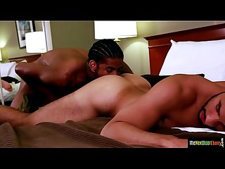 Ebony amateur assfucking handsome latino stud