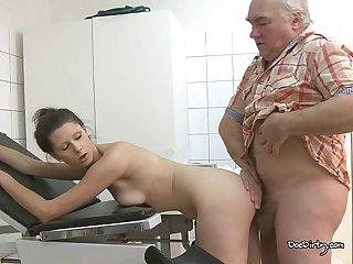 Take the old cock my dear slut