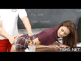 Kinky teacher makes schoolgirl fuck with him for fine marks