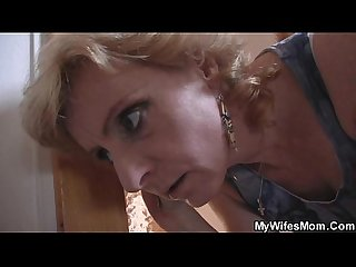 Horny guy screws his gf s mother