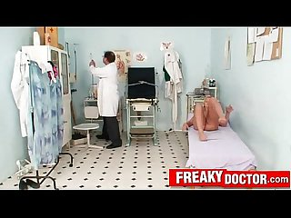 Dirty old and Young medical fetish clinic porn with lilith lee