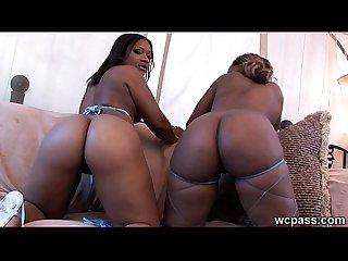 Dual big black booty