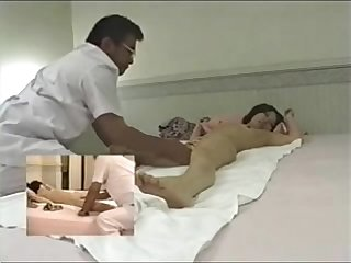 Japanese massage room - hidden cam - HornySlutCams.com