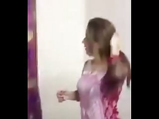 Another hot Desi babe dancing at home hot as hell