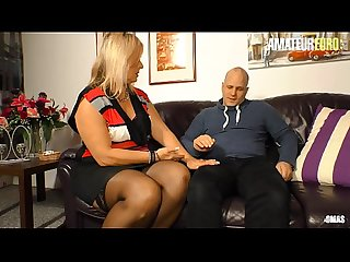 AMATEUR EURO - Mature German Wife Kiki R. Hardcore Sex With Her Brother Inlaw