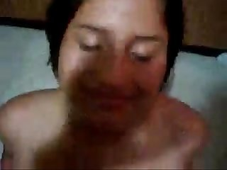 Desi cute callgirl takeing facial