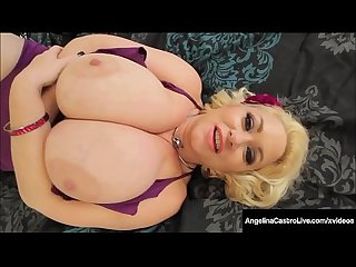 Huge BBWs Angelina Castro & Samantha 38G Are Titty Banged!