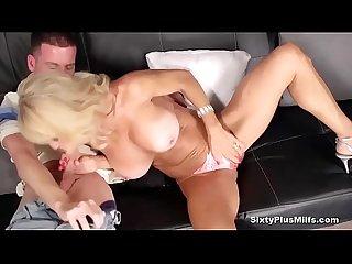 Busty blonde mature needs hardcore fuck