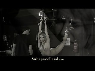 Aleska diamond restrained for bdsm hard usage