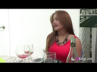 The day naughtysasha fucked three cocks and sucked the restaurant waiter s dick