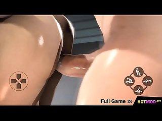 Sexy TGirl Fucks Girl - Creampie, Big Booty, 3D Futanari Hentai