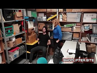Female Officer Krissy Lynn Blackmailing Shoplifter
