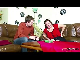 German step son seduce mom to get first fuck and lost virgin