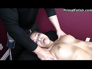Interracial erotic massage w wild orgasms and fucking