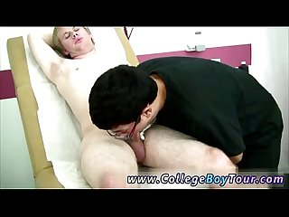 Gay porn frat Twink Forest he leaped up on to the examination table