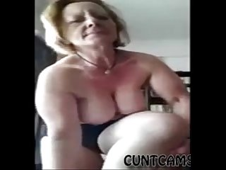 Fat mature landlady strips on webcam more at cuntcams net