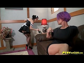 Punishing the maid cleo brandon areana spanking