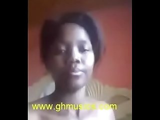 Ghana girl inserting pencil into her pussy ghmusics com