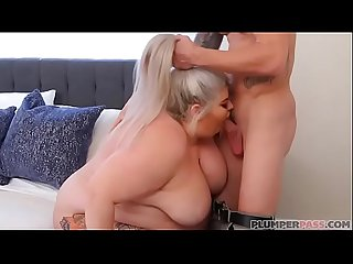British BBW Busty Brogan Looks for Lost Dog and Dick