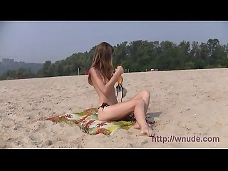 One of the most beautiful girls from my favourite nudist beach