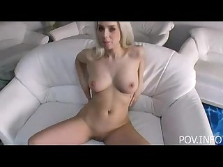 Beautiful Blond in POV Sex Action