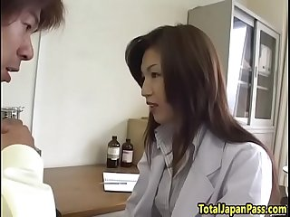 Asian schoolgirl pounded by her professor