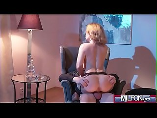 Mature blonde seduces in stockings(Sasha Zima) 03 vid-12