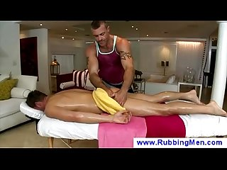 Gay masseur gets tempted to touch