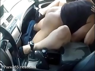Indian Slut Fucked Hard in the Car