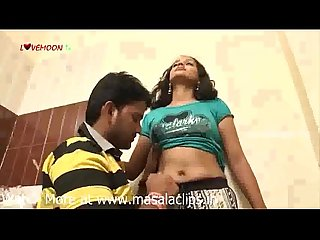 Cute telugu girl hot navel licking video