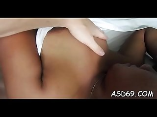 Hot oriental sweetheart favors her man with a perfect ride