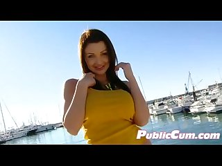 Aletta ocean public blowjob on beach029