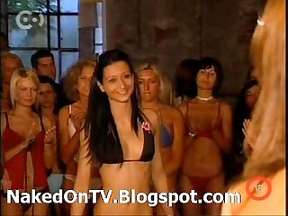 Aktmodell naked hungarian casting on tv stripping 4