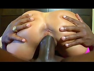 HotWifeRio Brunette MILF Sits on Huge BBC