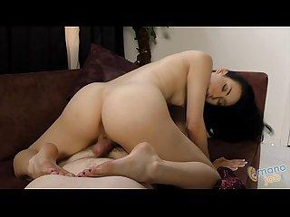 Round ass aria alexander jerking off a cock