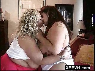 Cock hungry crispy bbw squeezed and pounded