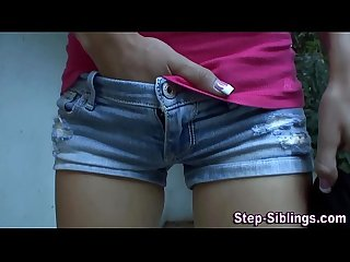 Teen stepsister tasted