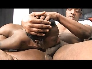 Fake canned black ghetto whore lucea brixton gagging on cock