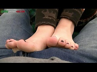 UI011-In the country with Leila -Amateur Foot Worship