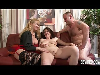 Bisexual german sluts fucking in threesome