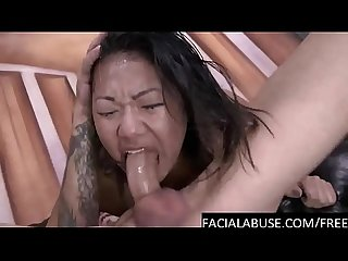 Deep rough bj for cute petite asian