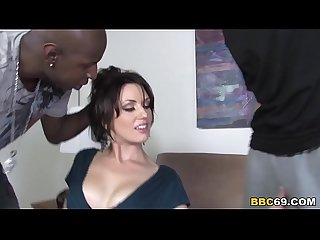 Sarah Shevon Survives Anal Sex And DP With BBC