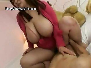 Massive japanese tits