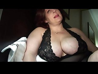 bbw sexy milf takes a load from DesireBBWs .com